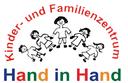 """Logo der Kindertagesstätte und Familienzentrum """"Hand in Hand"""""""